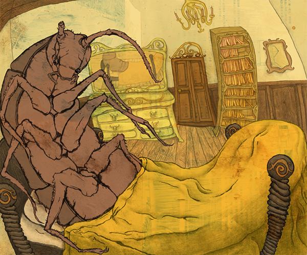 the transformation of gregor samsa in the novel metamorphosis by franz kafka