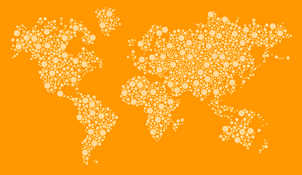 Free dotted world map vector design template on behance free dotted world map vector design template on behance gumiabroncs Image collections