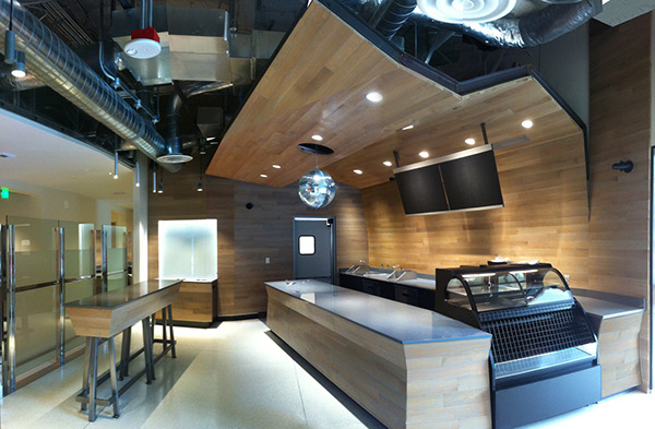 Coffee Shop Amazon Building Seattle Wa On Behance