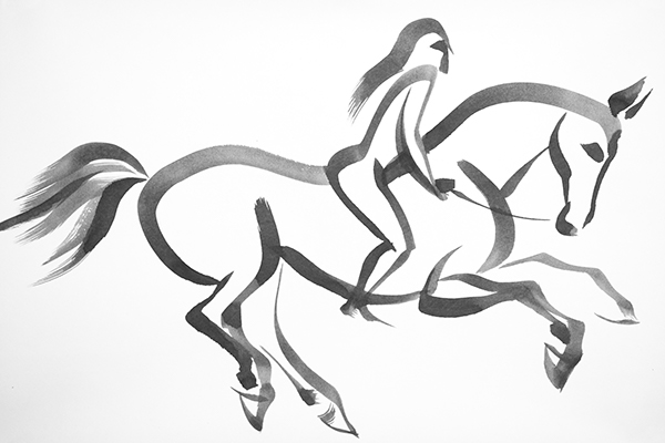 Calligraphy Horses On Behance