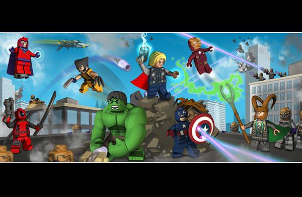Lego marvel super heroes on behance voltagebd Image collections