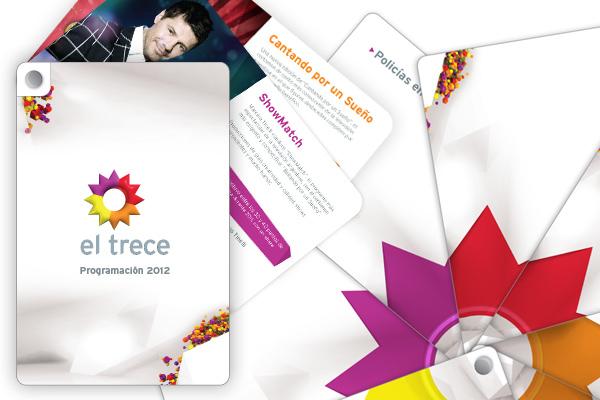 Brochure con la programación 2012.