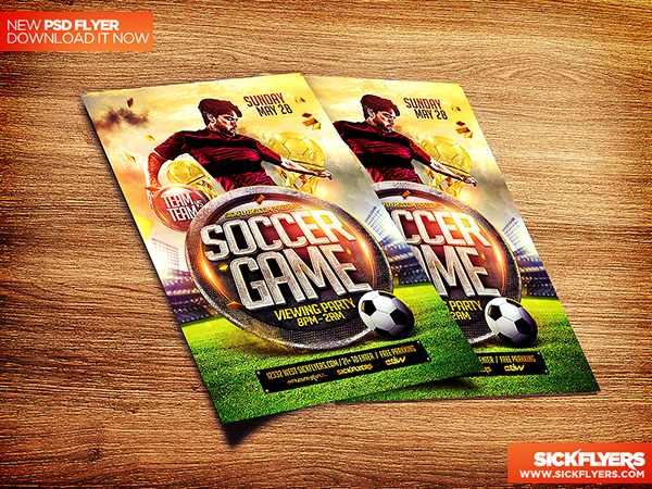 Sports Flyer Templates On Behance