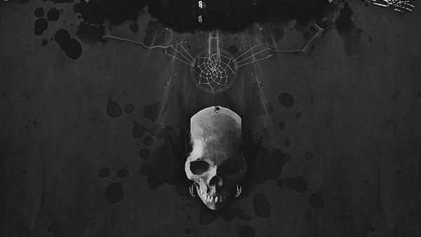 dark light Sunny Day abstract surreal photomanipulation skulls skull skeleton feather crow