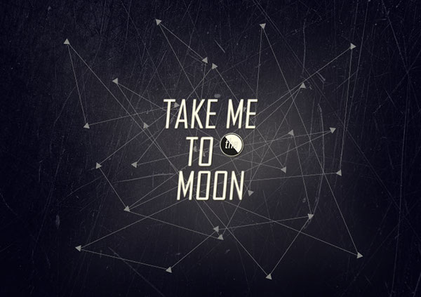 take me to the moon on behance. Black Bedroom Furniture Sets. Home Design Ideas
