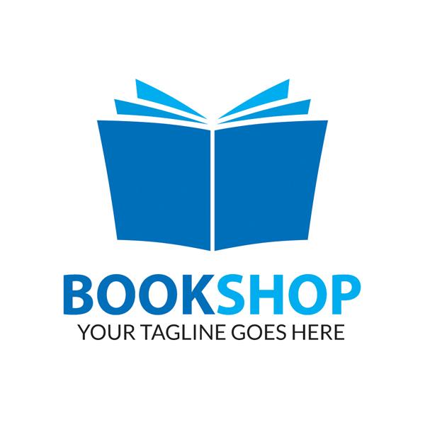 free book shop logo psd on behance