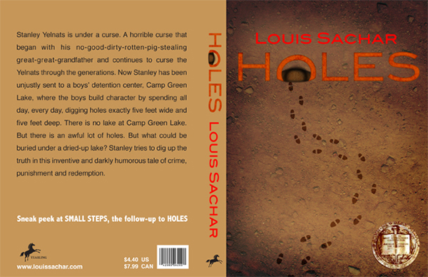 Holes Book Cover Ideas : Holes book cover redesign on behance