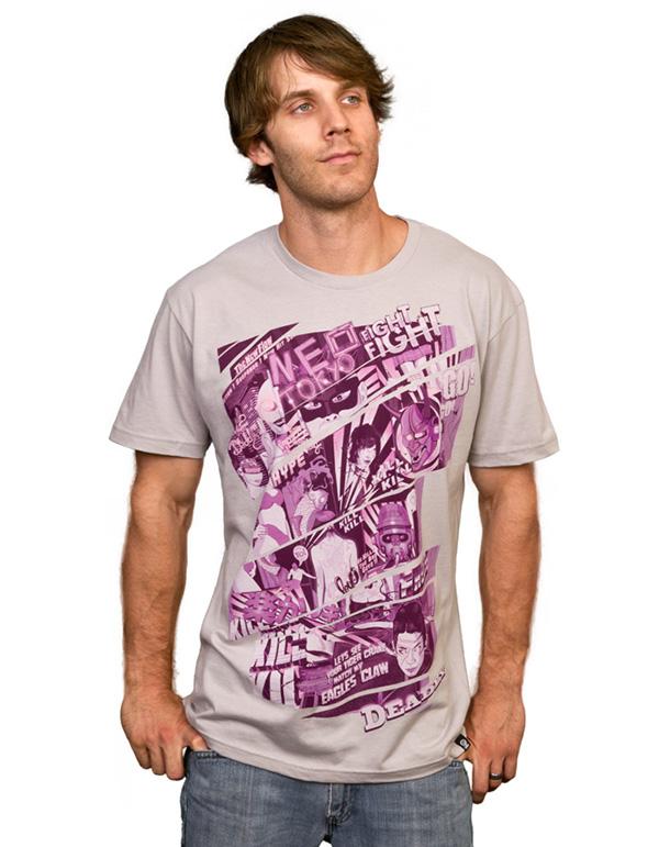 t-shirt shirt japan comic tokyo designbyhumans fresh purple vector kill