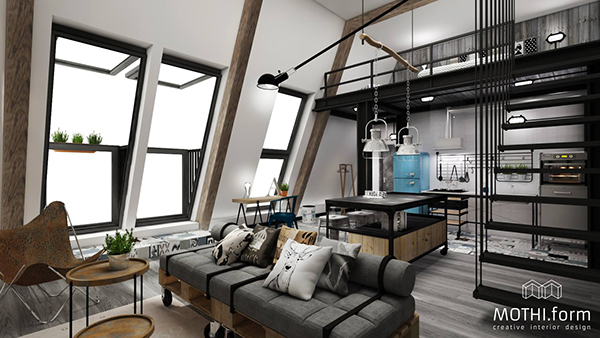 Loft Project On Behance