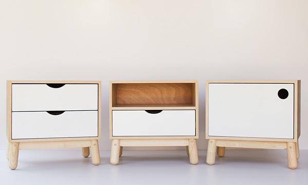 極美的21個床頭櫃設計欣賞