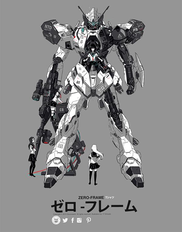 Zero Frame Gen2 by P Shinobi