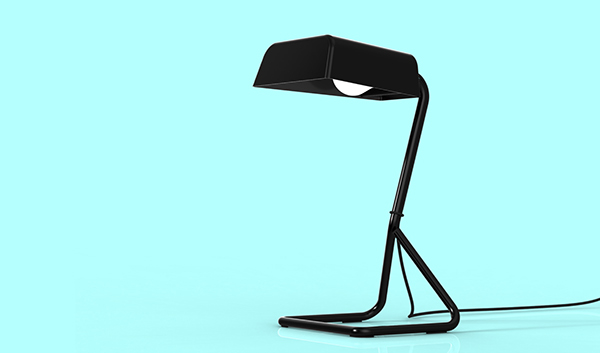 Desk lamp on behance this is a simple desk lamp bent metal wire base with a sheet metal shade floor lamp and other variations coming soon greentooth Image collections