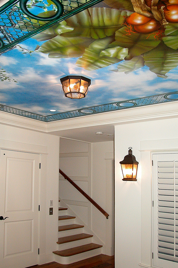 Foyer Ceiling Queen : Mural portfolio on behance