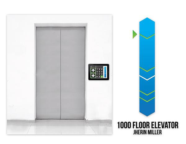 1 000 Floor Elevator Interface On Behance