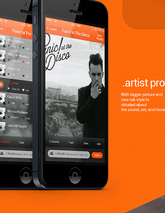 how to see who you follow on soundcloud app