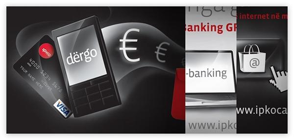 Ipko Visa card Prepaid Web print