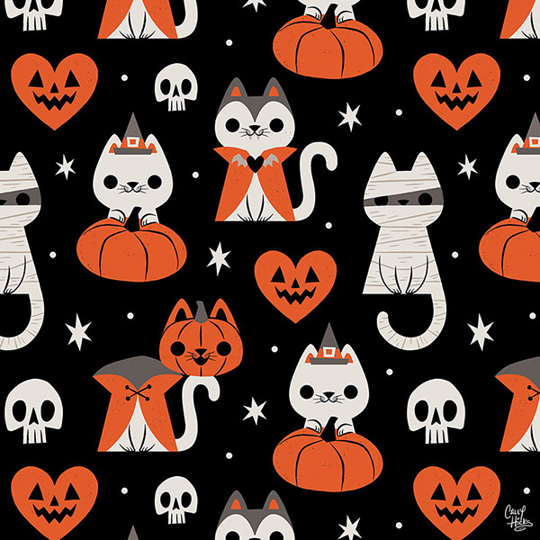 有創意感的19套貓咪圖案欣賞