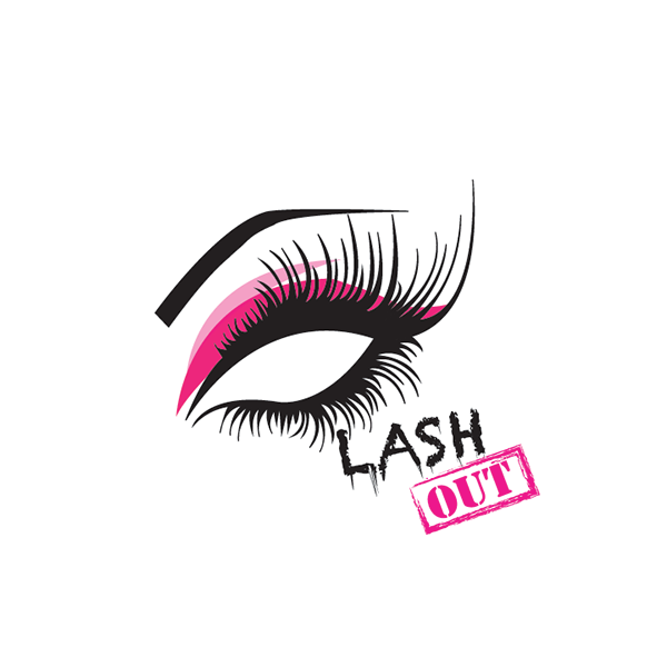 Lash Out Logo On Behance