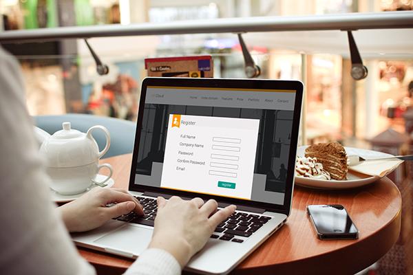 free landing page dark light Website psd