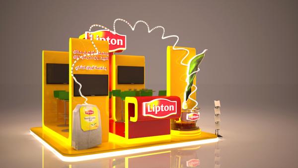 Lipton Booth On Behance