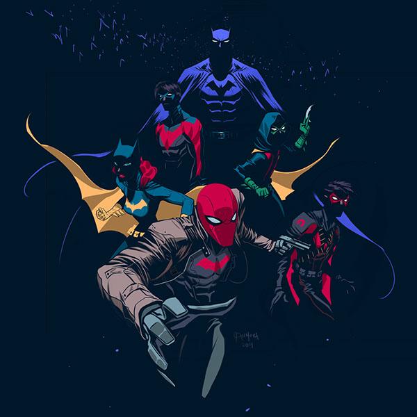 Kinzoku Bat Hd Wallpaper: Batfamily On Behance