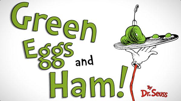 Green Eggs Ham By Dr Seuss