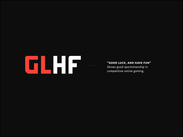 logo wallpaper esports glhf starcraft
