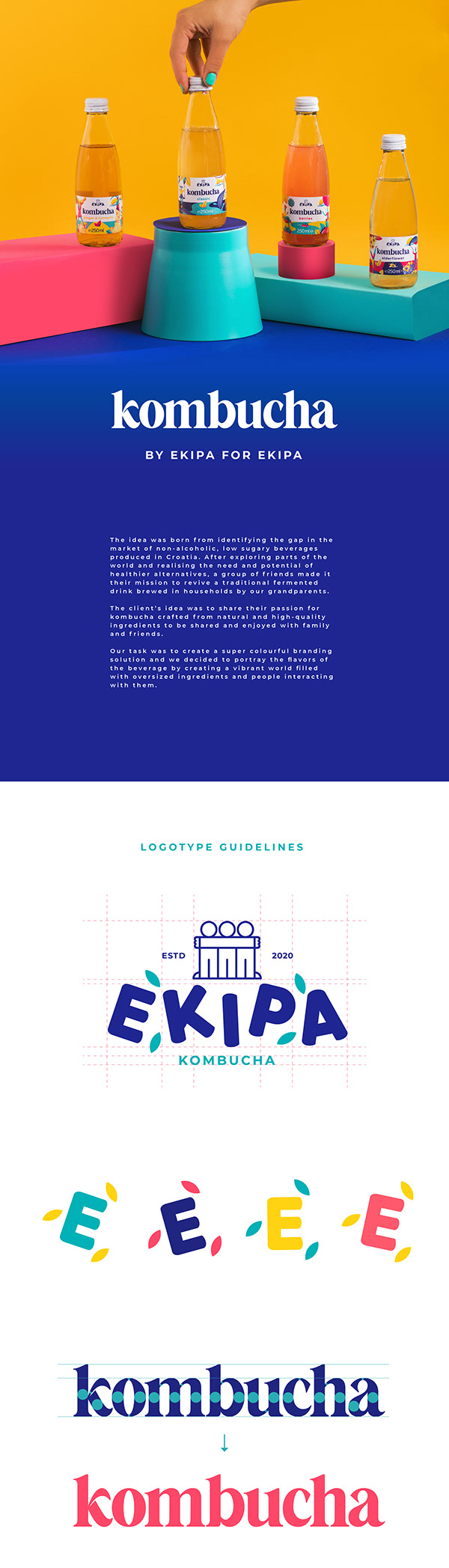Ekipa - Kombucha Packaging