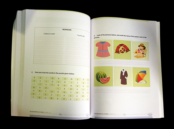Mount Litera Zee School Text Book Design On Behance