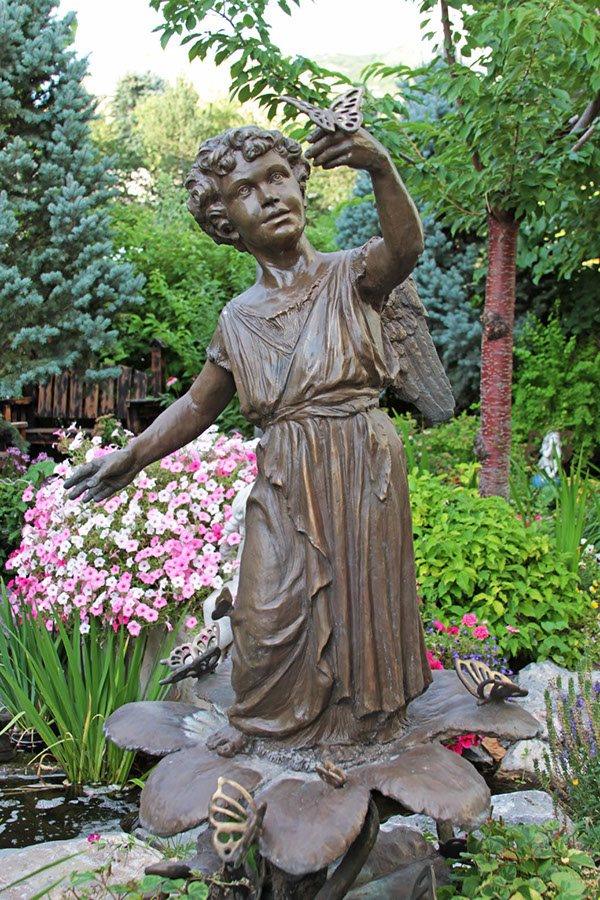 Custom Bronze Garden Statues On Behance