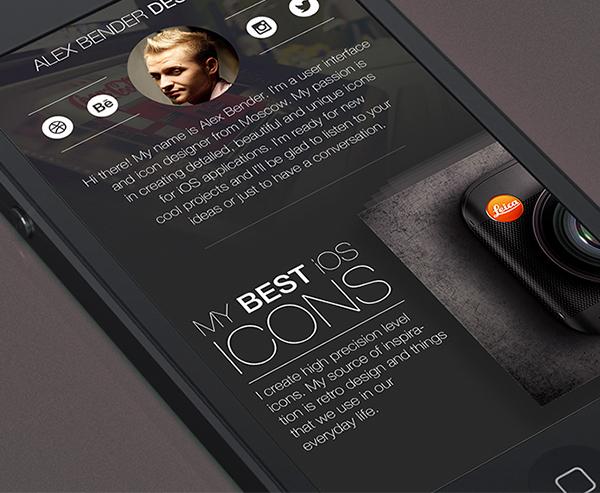 Russia Moscow icons portfolio mobile Web Icon UI app ios7 ios