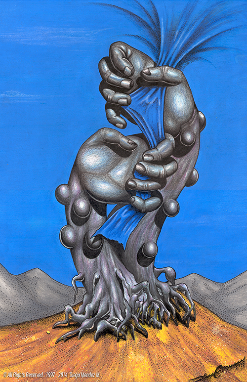 hands SKY surrealism Tree  handstree