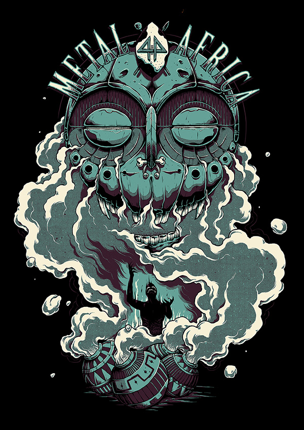 SA Metal // Band Shirt Graphics on Student Show