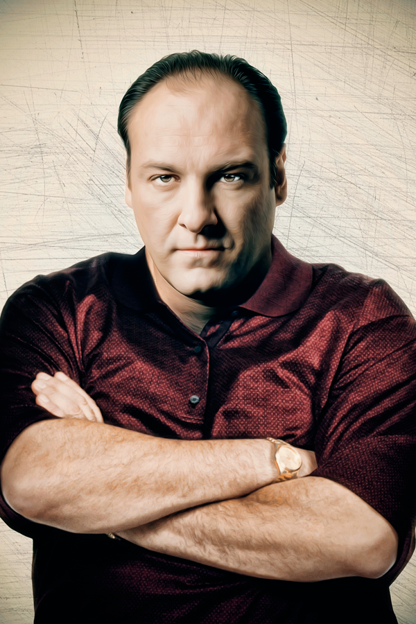 The evolution of the species serial killers tv shows on for Tony soprano polo shirts