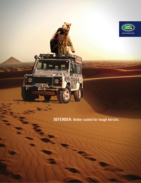 Land Rover Defender Ad Campaign On Behance