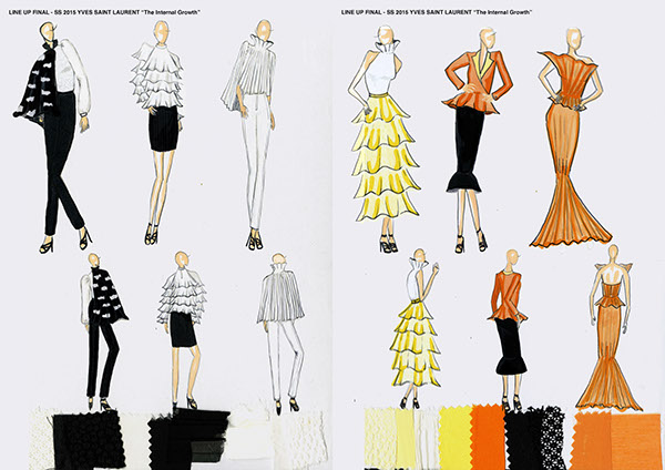 Intro To Fashion Design Internal Growth On Scad Portfolios
