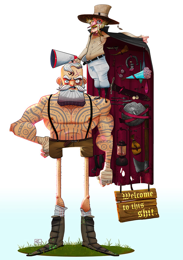 Behance Character Design Served : Welcome on character design served