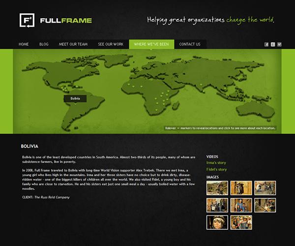full frame Logo Design Identity Design Website Design