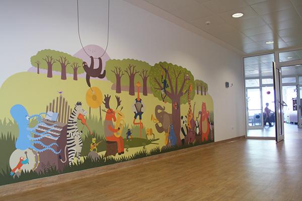 Magenta Children S Hospital Wall Art On Behance
