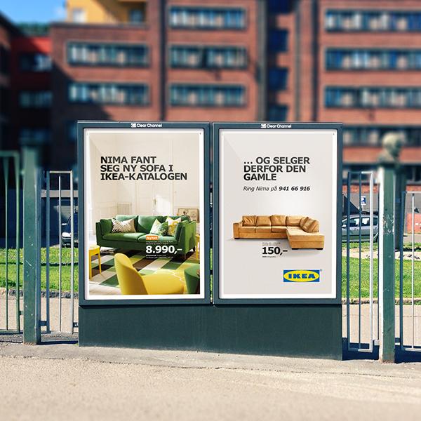 Ikea second hand campaign on behance - Ekia furniture ...