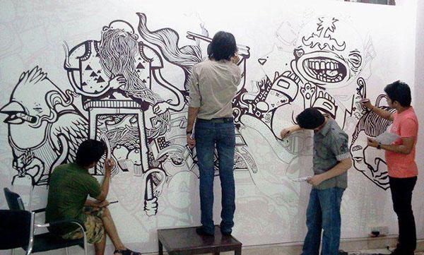 wall art wall murals on behance