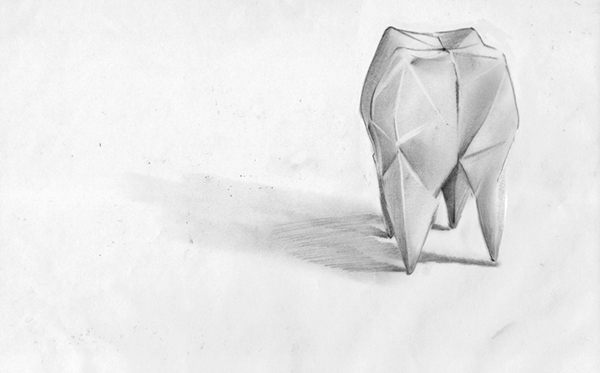 Origami Tooth On Behance