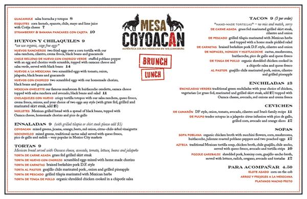 Mesa Coyoacan on Behance