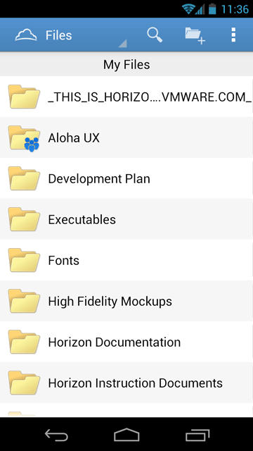 android file share app management