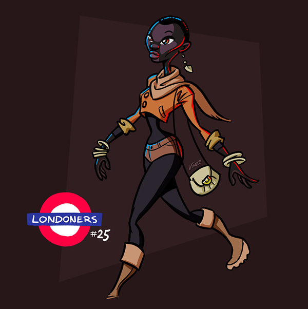 londoners vinzend mediamonks London characters vincent wetering