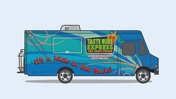 Food truck Truck vector Vehicle jacksonville