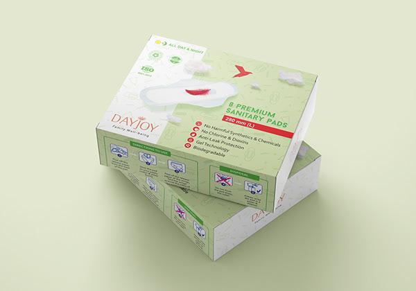 Sanitary Pad Packaging Design