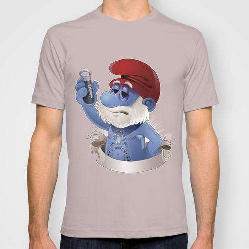 Popeye papa smurf Smurf edouard relou tattoo