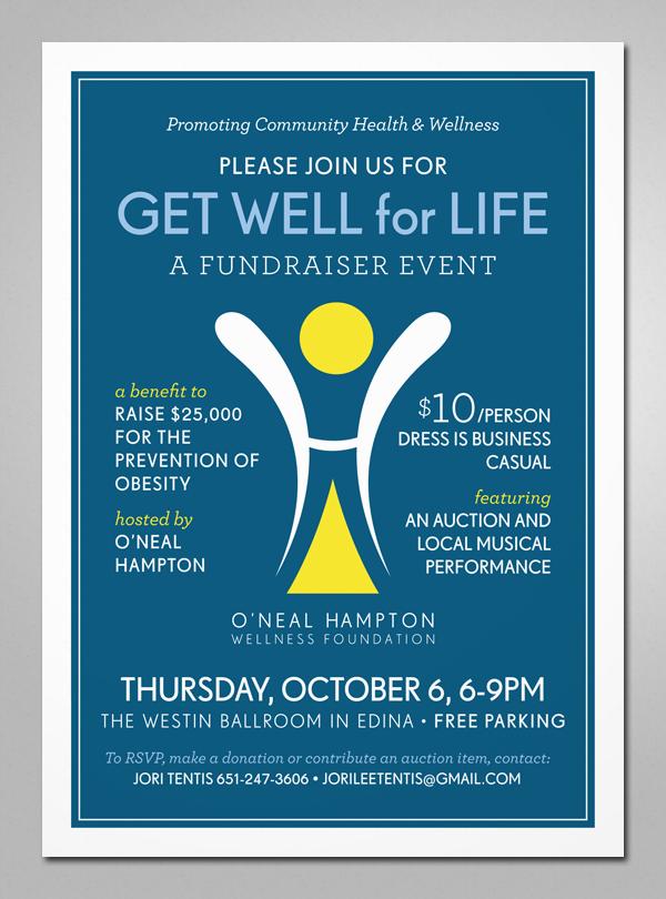 Invitation: Non-Profit Fundraiser on Behance