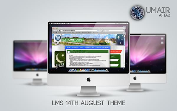 LMS Moodle NUST WEB theme